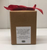 Candle  9cl in a Gift Box - Verbena & Lime